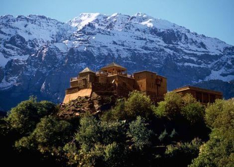 Kasbah du Toubkal im Hohen Atlas