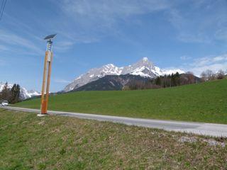 Mit dem Smil-E Elektroauto durchs Tennengebirge