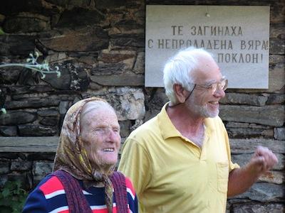 Baba-Maria und Hristo Ravela aus dem Dorf Kosovo in Bulgarien