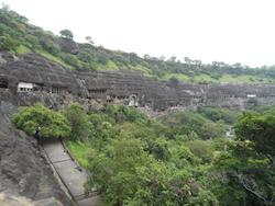 Die Ajanta Hoehlen