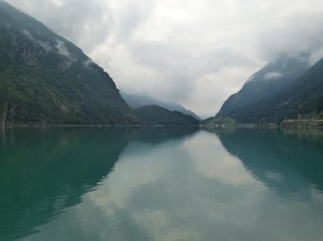 Der Puschlav-See im Bündner Südtal