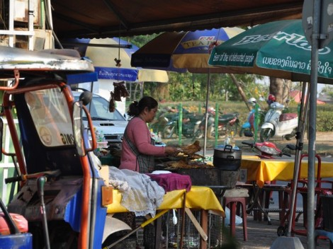 Street food Stand - Laos