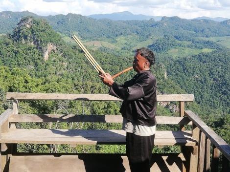 Dorfbewohner Black Lahu Village