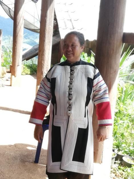 Dorfbewohnerin Black Lahu Village