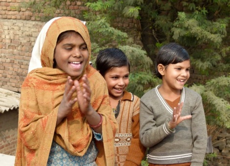 iimpact setzt sich für die Bildung von Mädchen ein.