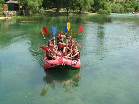 Von Wildwasser bis gemütlicher Paddeltour hat Bosnien-Herzegowina allerhand zu bieten für Wassersportler (Foto: Otvoreni Put)