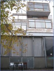 Fast vergessene Architektur von Weltklasse am Ufer der Panke im Wedding. Die Druckerei Rotaprint, heute ein Kreativzentrum in Selbstverwaltung.